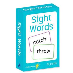 Little Genius Sight Words Flashcards NEW