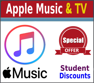 Apple Music /& Apple TV $4.99//mo ✅ 50/% Student Discounts ✅ lnstant