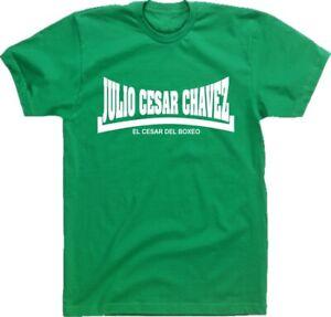 Julio Cesar Chavez 'El César del Boxeo' T-Shirt - Retro Boxing, Various Colours