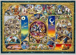 Tenyo-Disney-Character-World-World-039-s-Smallest-Jigsaw-Puzzle-1000-Piece