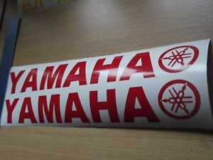 YAMAHA Belly pan Stickers BEST QUALITY 7 year  VINYL