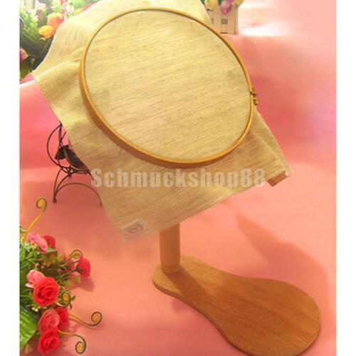 22 Cm Stickrahmen Holz Kreuzstich Rack Rahmen \u0026 30 Stücke Nähnadeln