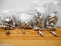 100 Pack Rca, F, Bnc, Connectors -