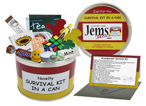 GRANDPARENT-Survival-Kit-In-A-Can-Novelty-Gift-For-Birthday-Christmas-New-Baby