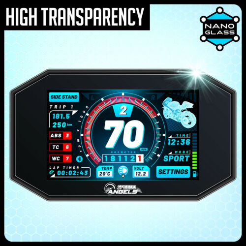 Yamaha MT10SP//FZ10SP Nano verre tableau de bord protecteur d/'écran x 2 2017+