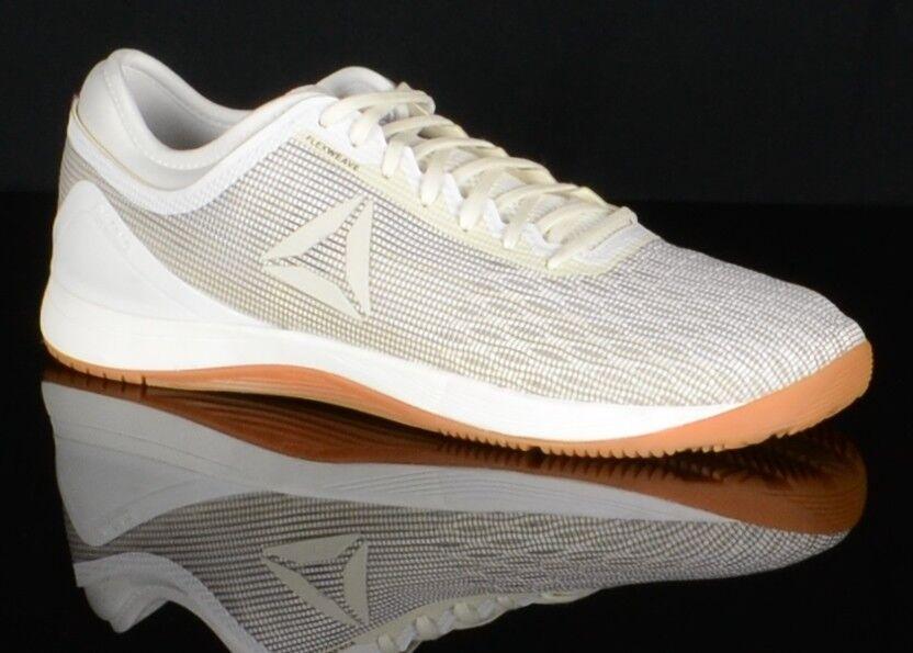 Reebok Homme CrossFit Nano 8.0 survolteurs CN1020 Chaussures Taille 12 m blanc Gomme paniers