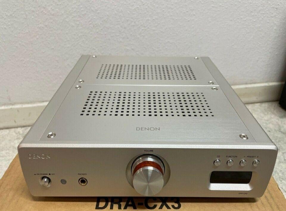 Forstærker, Denon, Dra-cx3