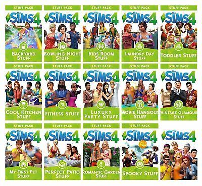 The Sims 4 Expansions Stuff Packs Origin Game Key Pc Mac Region Free No Cd Ebay