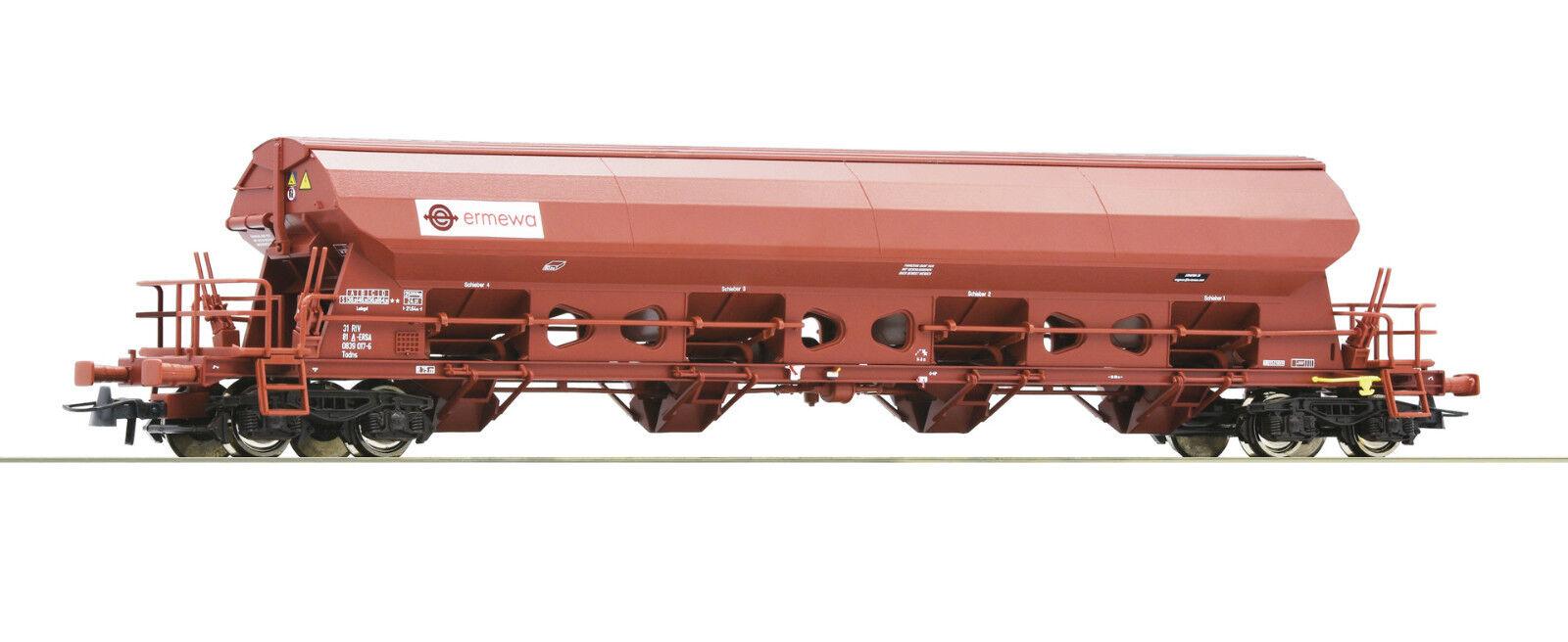 Roco h0 76412-schwenkdachwagen, ermewa, EP. vi mercancía nueva