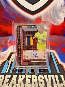 2020-21 Obsidian - MALCOM - FC Barcelona - Matrix Jersey Patch Autograph 2/5