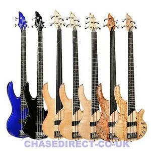 TANGLEWOOD-CANYON-Electric-Bass-Guitar-Long-Scale-Active-Pickups-Thru-Neck