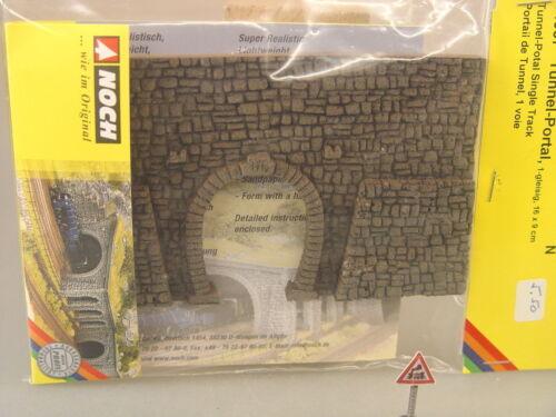 58247  #E Noch HO Tunnelportal eingleisig m Bruchsteinmauer