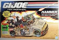 G. I. JOE HAMMER HIGH TECH ATTACK JEEP, Hasbro, 1989. MISB