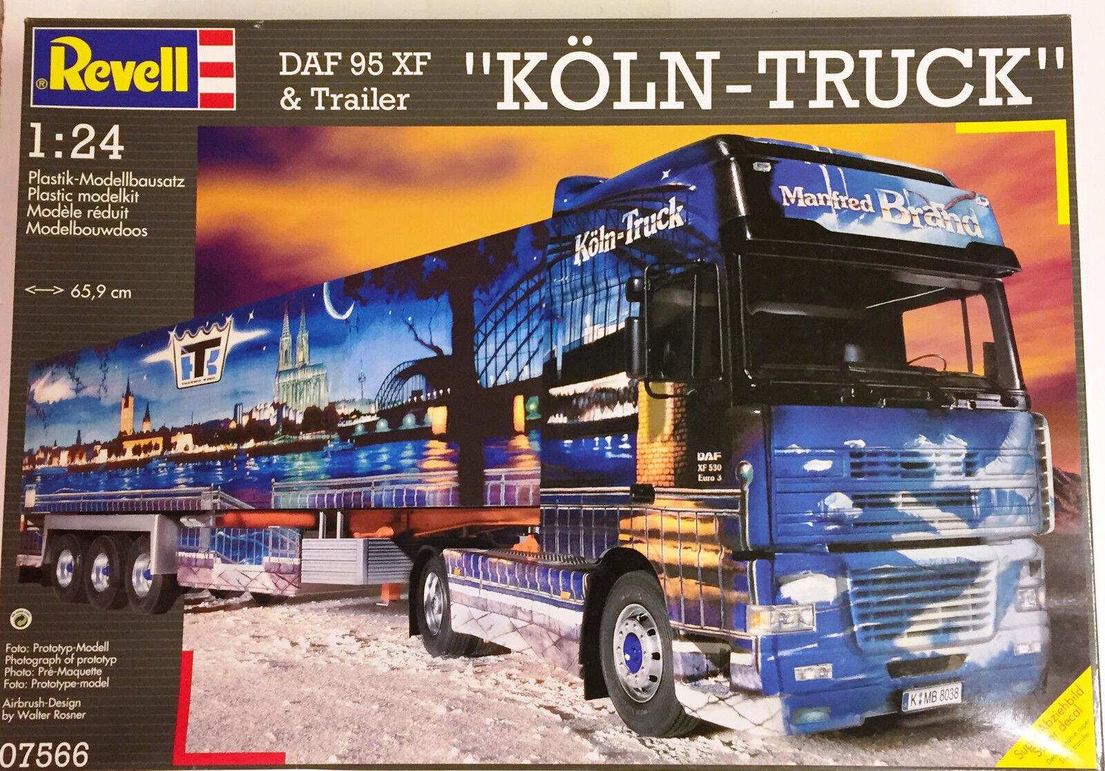 Revel Geruomoy 1 24 DAF 95 XF w  trailer  Koln-Truck