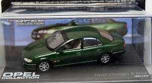 Opel Collection - Opel Omega B MV6, 1994-1999 1:43 in Box (4) - Duisburg, Deutschland - Opel Collection - Opel Omega B MV6, 1994-1999 1:43 in Box (4) - Duisburg, Deutschland
