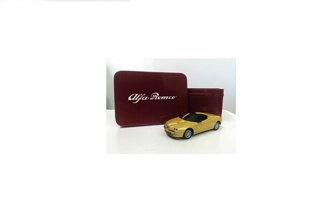 Alfa Spider Spider Spider yellow Zoe - Yellow 1 43 Diecast Model Car New 66d651
