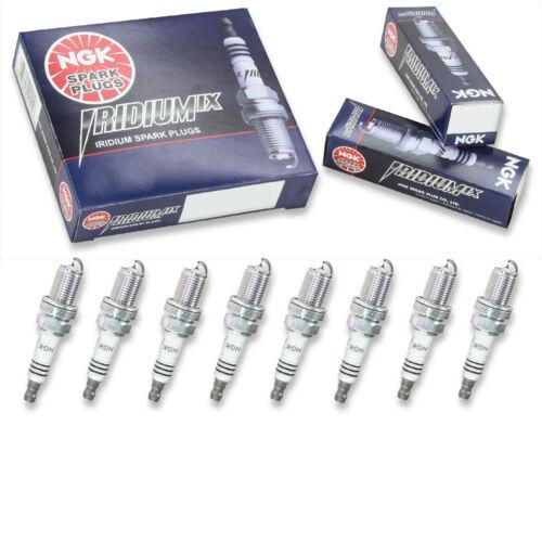 8 pcs NGK Iridium IX Spark Plugs for 2004-2009 Audi S4 4.2L V8 Engine Kit td