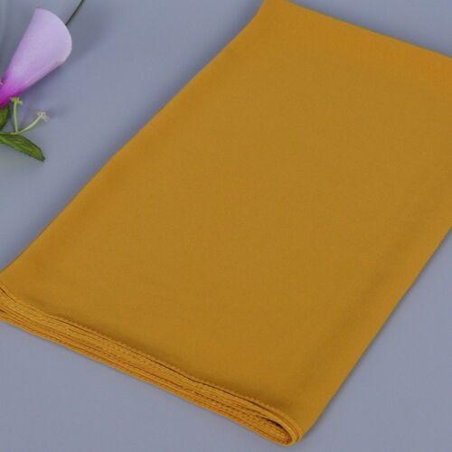 High Quality Womens Chiffon Plain Color Scarf Wrap Shalws Maxi Shayla Hijab New