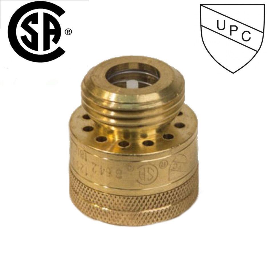 Quot mht fht brass hose bibb vacuum breaker leaded with