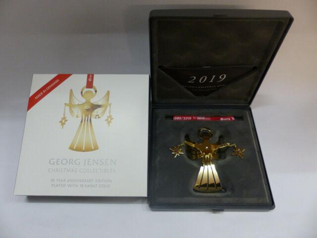Georg Jensen Christmas Collectibles Weihnachtsmobile 2019 GOLD Art 10015293 OVP