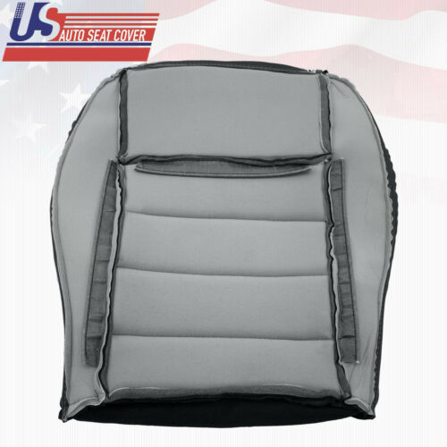 2009 Dodge Charger R//T SE Driver Bottom Replacement Leather Seat Cover Dark Gray