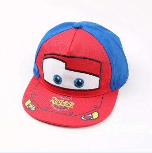 Kinder Jungen Pixar Cars Lightning McQueen Snapback Baseball Cap Hat Mütze Kappe