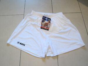 8 Gr SALE: neue hochwertige kurze Sporthose ohne Innenslip dunkelblau Masita