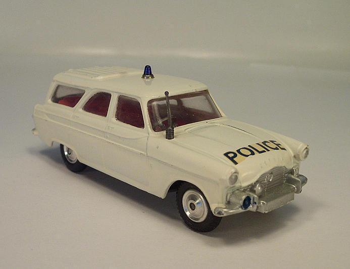 CORGI toys 419 FORD zephyr Motorway perspectives patrol car police petite lumière bleue  184