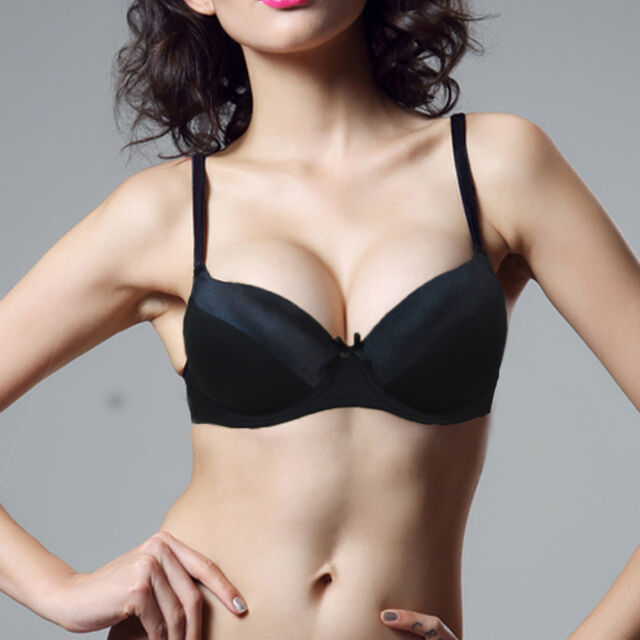 Womens Bras Push up Bra Underwire SUPPER Thick Padded Underwear Size A B C D Cup