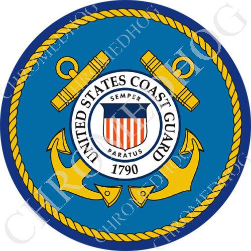 US Army Logo USA Flag Premium Round 3M Epoxy Gel Domed Decal or Flat Sticker