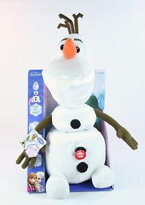 Disney-Frozen-OLAF-the-SNOWMAN-pull-apart-15-034-talking-plush-soft-toy-NEW
