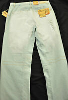Men's Cheap Joe's Jeans Size 31 X 32 Light Wash White Paint Straight Leg Cotton