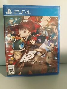 Persona 5 Royal Standard Edition PS4 BRAND NEW loose disc inside