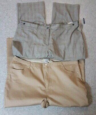 a1f40e54e3e4 Catherine's Women's Lot Set Of Pants Size 30W & 30WP Both New With ...