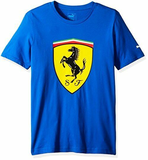 PUMA  Herren Scuderia Ferrari Big Shield T-Shirt M- Select SZ/Farbe.