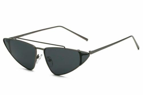 Womens CAT EYE Fashion Vintage Retro Triangle Sunglasses UV400 Eyewear Glasses