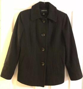 Ladies-London-Fog-Coat-Black