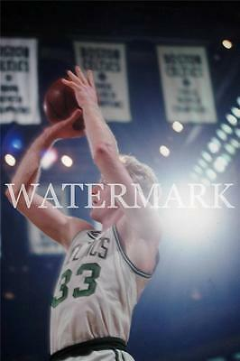Larry Bird Classic Jump Shot Celtics Basketbal Color 8x10 11x14 12x18 Photo AD72