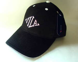 FILA-Black-and-Pink-Women-039-s-Size-OSFA-Cotton-Hat-Cap-NEW-NWT