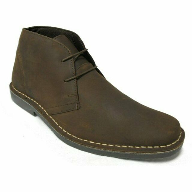 Mens Slim Toe Dark Brown Nubuck Leather