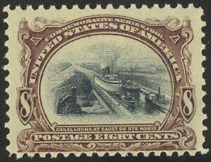 298-8c-Pan-American-Lovely-Mint-NH-Single