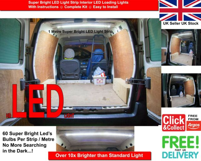 Vauxhall Combo C 2001–2011 Van INTERIOR LOADING LIGHT LED Rear Loading Light KIT