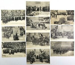 A-F-Gorguet-French-Postcards-Unposted-Lot-of-10-circa-1918-B