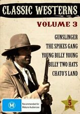 CLASSIC WESTERNS VOLUME 3 (5 movie set)   - DVD - UK Compatible
