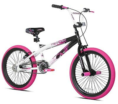 "20/"" Kid Girls Bike BMX Freestyle Bicycle Outdoor Cycling Sports For Ages 8-12"