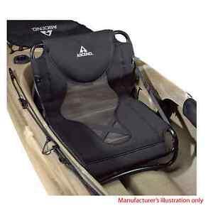 Bass Pro Ascend FC Elite Black White Kayak Boat Clamp On Seat 1896015 163157