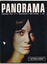 PANORAMA 5 / 1963 catherine deneuve vietnam corpo umano piccolo teatro perugia