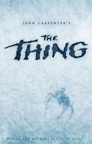 JOHN CARPENTER/'S THE THING Movie Poster