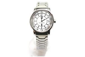 Bvlgari-Watch-29mm-Quartz-Women-039-s-Whites-X-Silver-1207788