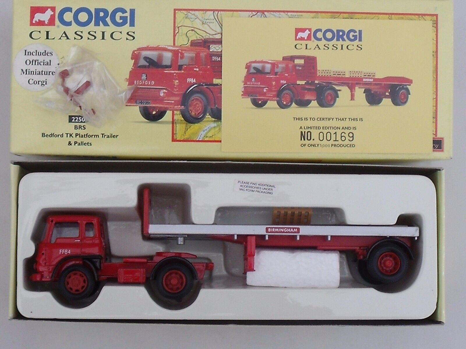 CORGI CLASSICS - BEDFORD TK TYPE ARTIC - BRITISH ROAD SERVICES - MINT & BOXED